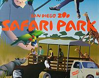 Safari Park Poster