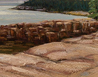 Red Rocks of Acadia #2. MDI