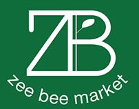 zee bee market identity