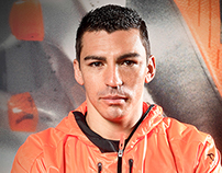 Lucimar Ferreira - Football player portrait for ADIDAS