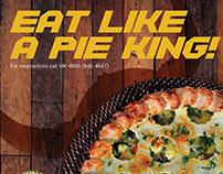Eat like a pie king!