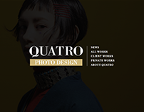 QUATRO PHOTO DESIGN Website