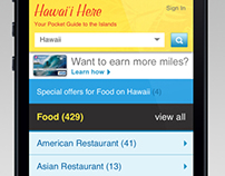 Hawaiian Airlines : Hawai'i Here App
