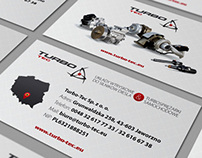 Printed materials, cards, folders, posters - Turbo-Tec.