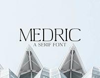Medric - Free Serif Font