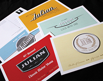 Julian Classic Motor Show Post Cards