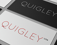 Logo, identification - Quigley.