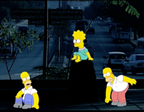 The Simpsons invade Amman