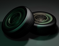 Tires on Cinema4D