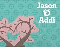 Jason & Addi's Wedding Invitations