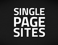 Single Page Sites