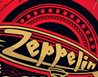 Zeppelin Rock Bar Posters