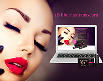 3D Mascara - the presentation page of the product