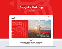 Beyçelik Holding Web Site