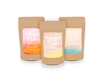 Calm your TEAts | Package Design