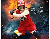 Softballsports photography templates