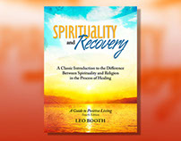 Spirituality and Recovery Book Cover Design