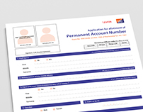 Form Re-Designing - PAN Card Application