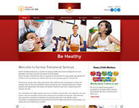 Sunrise Webpage Design