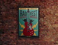 Rad Fest Event Poster