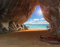 Inside Cave 3d