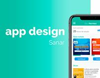 App Design - Sanar
