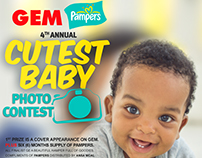 GEM/ PAMPERS CUTEST BABY CONTEST 2017