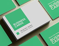 Business Cards. SELECTED WORKS