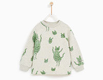 Zara Baby Boy AW Collection- Dancing Tigers Print