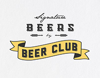 Signature Beers / Art Direction