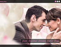 Web Design: Wedding Template