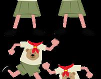 Brown Bears Illustration