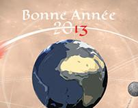 bonne année 2013, cartes de voeux