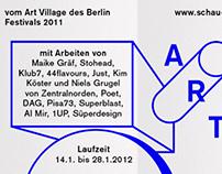 Flyer / poster – Schau Fenster