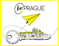 Be Prague corporate identity