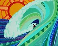 Surf Mandala