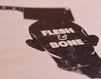 """Flesh and Bone"" online magazine logo"