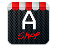 ADMiN.WEB add-on shop icon for iPad