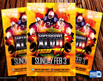 SuperBowl Psd Flyer