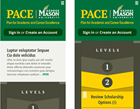 George Mason PACE Mobile Web Design (Proposed) '12