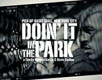 Doin' It In The Park: The Creative Journey