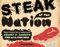 Steak of the Nation Poster