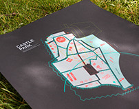 Bristol Castle Park Way Finding/Map