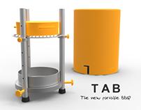 TAB. Portable BBQ