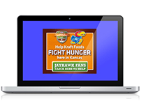 Kraft Huddle To Fight Hunger-AWG Program Customization