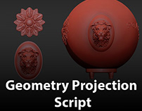 Geometry Projection | Useful Script For 3dsMax