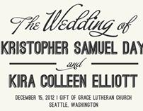 Kris & Kira // Wedding Collateral