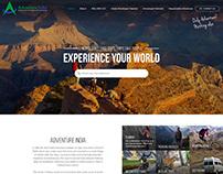 Travel websites design