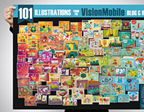 101 illustrations poster