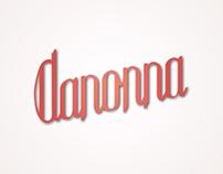 Danonna Lettering
